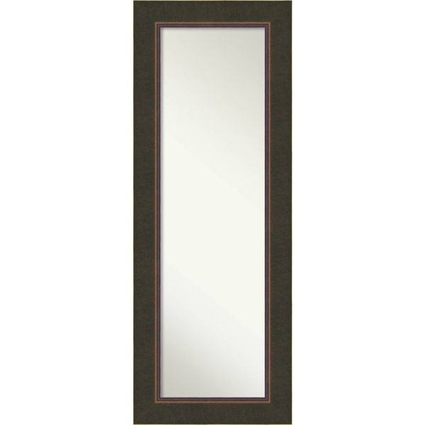 On The Door Full Length Wall Mirror, Milano Bronze 21 X 55 Inch Throughout Wall Mirrors Full Length (#12 of 15)