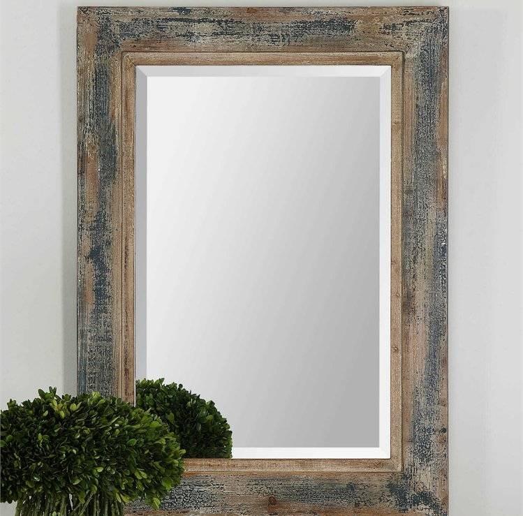 One Allium Way Janie Rectangular Wall Mirror & Reviews   Wayfair Within Rectangle Wall Mirrors (View 8 of 15)