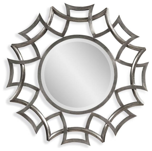 Orlando Wall Mirror – Transitional – Wall Mirrors  Bassett With Regard To Bassett Wall Mirrors (#13 of 15)