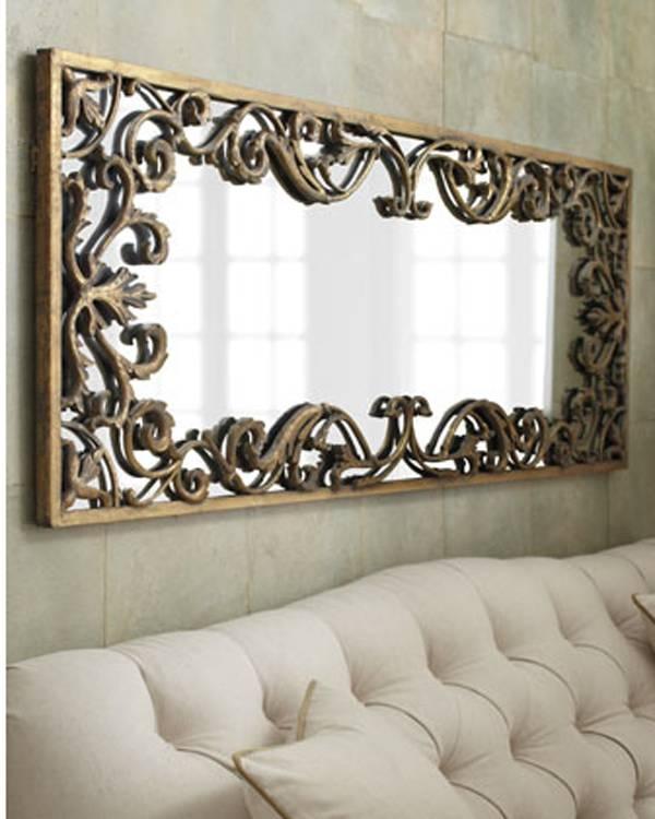 "Ornate Decorative Gold Scroll Large Wall Mirror Xl 68""   Ebay For Decorative Wall Mirrors (#11 of 15)"