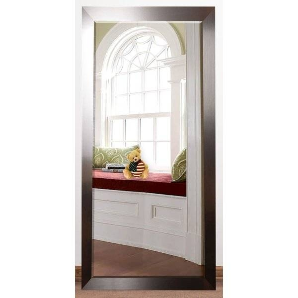 Orren Ellis Bernadette Rectangle Beveled Silver Wall Mirror In Wall Mirrors With Drawers (#11 of 15)
