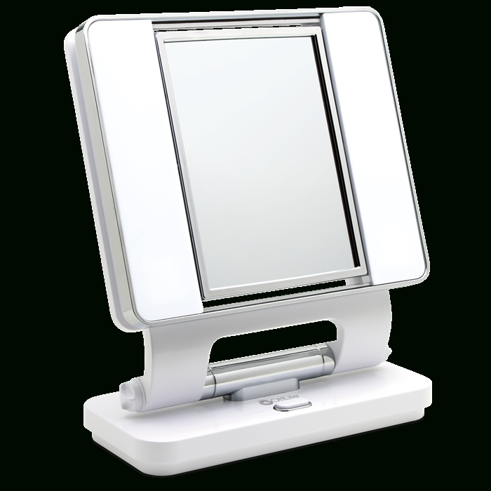 Ottlite Natural Lighted Makeup Mirror White | Vanity Lighted With Regard To Lit Makeup Mirrors (#8 of 15)