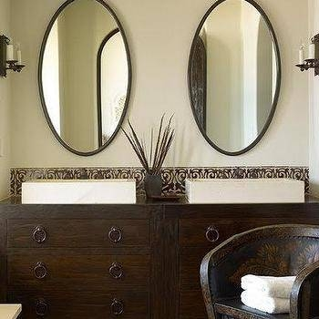 Oval Bathroom Mirror Design Ideas Within Oval Bathroom Wall Mirrors (View 9 of 15)