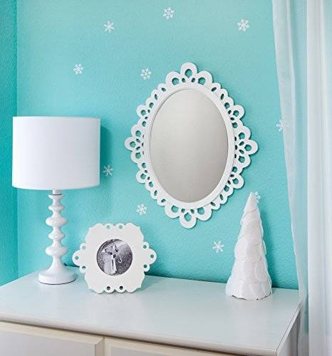 Oval Wall Mirror – Highly Decorative Wall Accessories – Use It For Within Princess Wall Mirrors (#8 of 15)