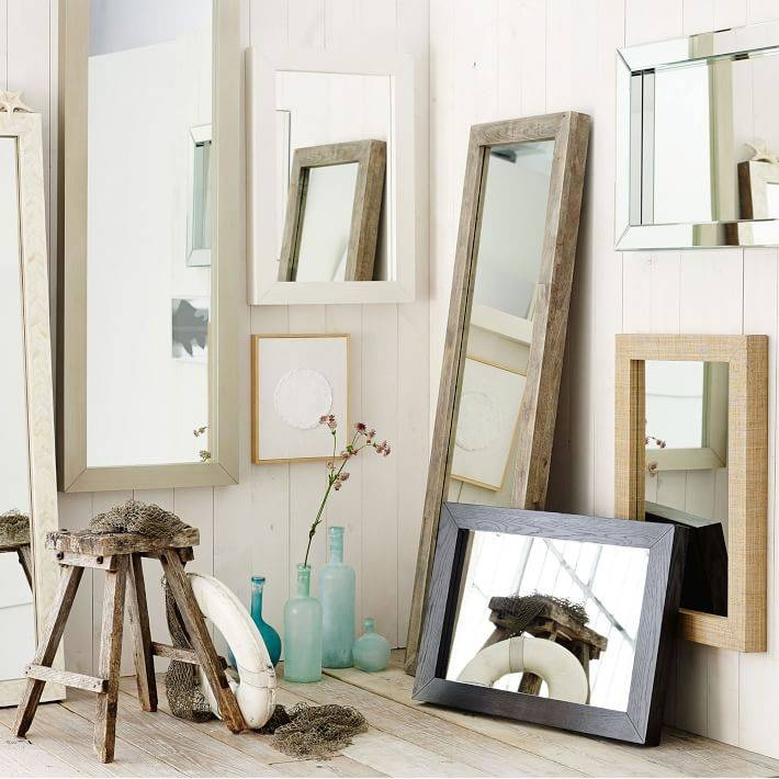 Parsons Wall Mirror – Mirrored | West Elm Throughout Parsons Wall Mirrors (#14 of 15)
