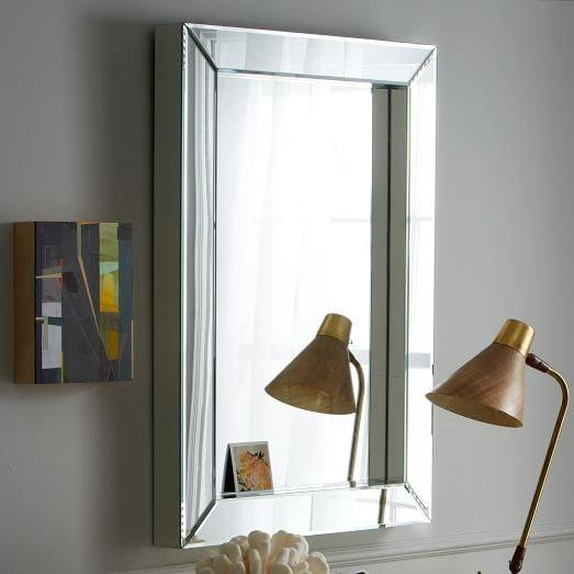 Popular Photo of Parsons Wall Mirrors