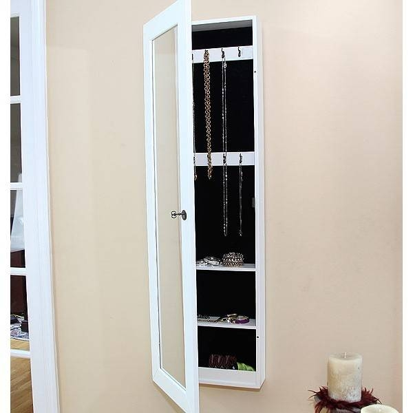 Popular Photo of Jewelry Armoire Wall Mirrors