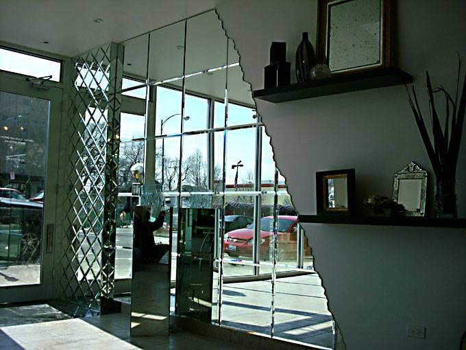 Perfect Ideas Custom Wall Mirrors Crafty Design Custom Glass Door Within Denver Custom Mirrors (#14 of 15)
