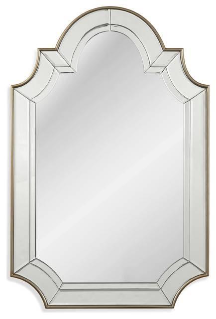 Phaedra Wall Mirror – Transitional – Wall Mirrors  Bassett Throughout Bassett Wall Mirrors (#15 of 15)