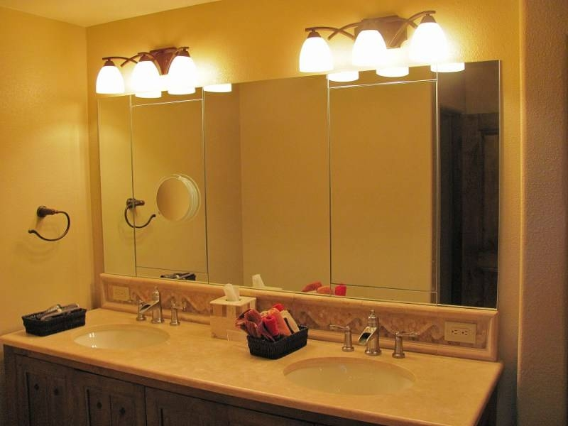 Phoenix, Arizona Custom Mirror Installations, Wall Mirrors, And More Intended For Vanity Wall Mirrors (#9 of 15)