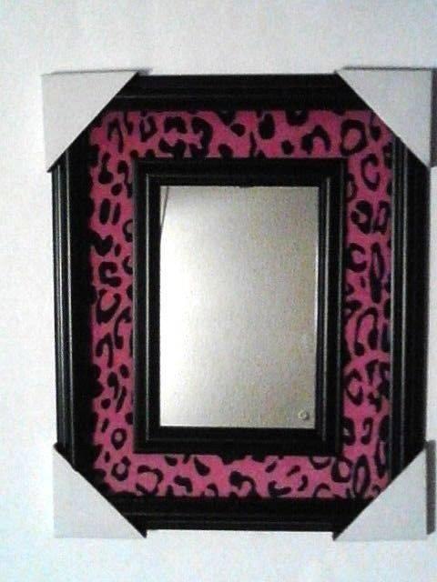 Pink Leopard Animal Cheetah Print Wall Mirror Any Room Home Decor Regarding Leopard Wall Mirrors (#9 of 15)
