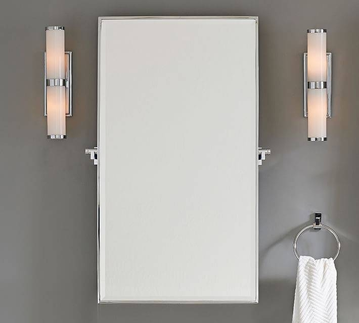 Pivot Wall Mirror | Pottery Barn For Pivoting Wall Mirror (#9 of 15)