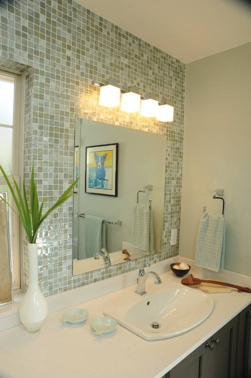 Placement Of Light Above Mirror For Bathroom Lighting And Mirrors (#13 of 15)
