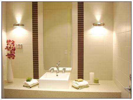 Pleasing 20+ Bathroom Lights For Mirrors Design Inspiration Of 25+ With Regard To Lights For Bathroom Mirrors (#15 of 15)