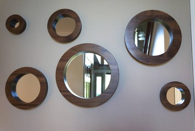 15 Best Ideas Of Round Wall Mirror Sets