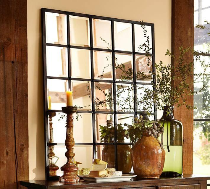 Pottery Barn Eagan Mirrors | Decor Look Alikes With Pottery Barn Wall Mirrors (#11 of 15)