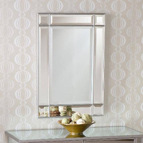 Pottery Barn Emma Frameless Arched Wall Mirror Beveled, Bathroom With Regard To Frameless Beveled Bathroom Mirrors (#10 of 15)