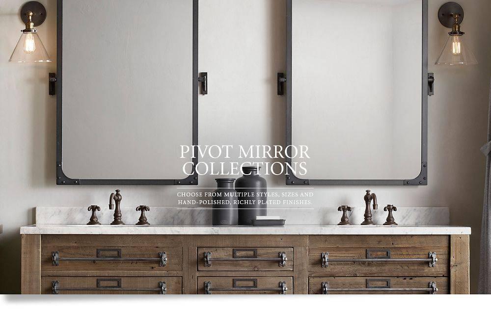 Popular Photo of Pivoting Wall Mirror