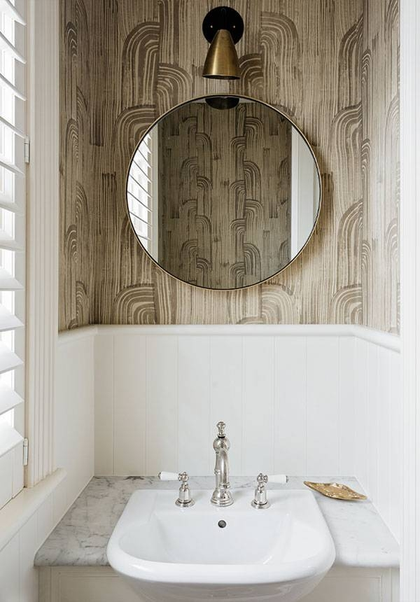 Pretentious Round Mirror In Bathroom Fall S Trend Mirrors 24 East Pertaining To Round Mirrors For Bathroom (View 6 of 15)