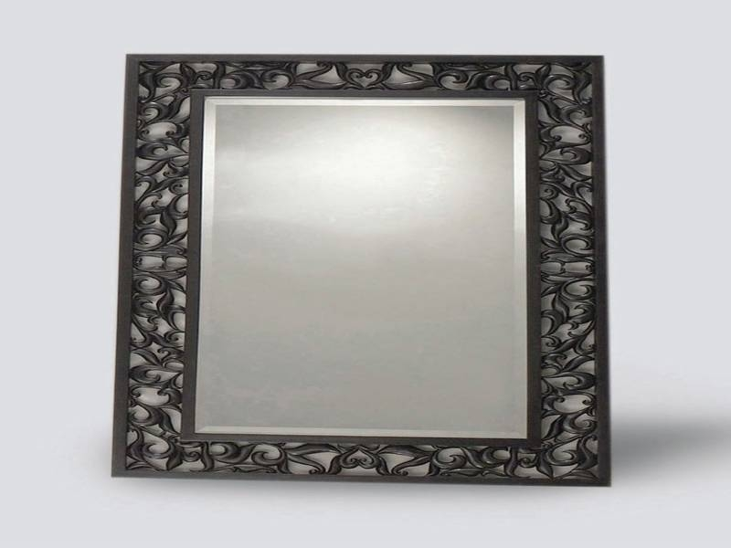 Pretty Mirror Vanity Fair Bring In Geometric Contrast Wall Pattern With Regard To Asian Inspired Wall Mirrors (View 5 of 15)