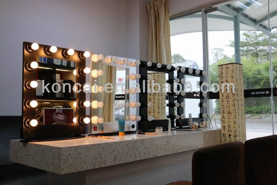 Professional Lighting Makeup Mirror,wall Mounted Lighted Makeup With Wall Mounted Lighted Makeup Mirrors (#10 of 15)