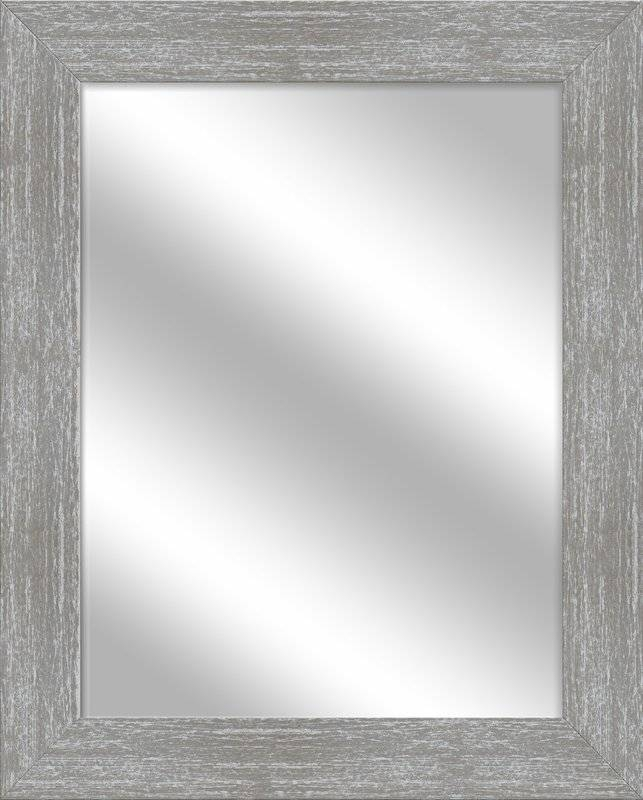 Ptm Images Vanity Wall Mirror & Reviews | Wayfair With Regard To Grey Wall Mirrors (#13 of 15)