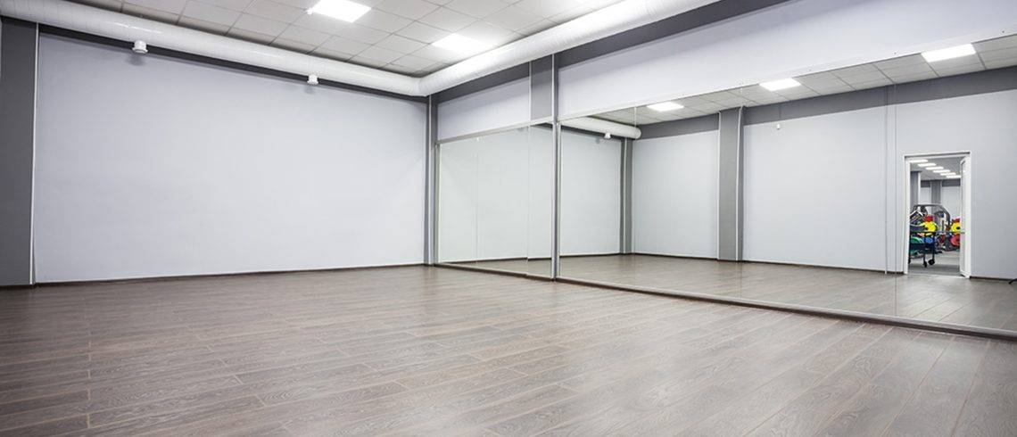 15 Photo Of Dance Studio Wall Mirrors
