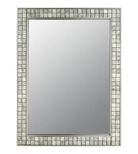 Inspiration about Quoizel Vtcl43224Bn Vetreo Clouds 32 X 25 Inch Brushed Nickel Wall Pertaining To Brushed Nickel Wall Mirrors (#9 of 15)