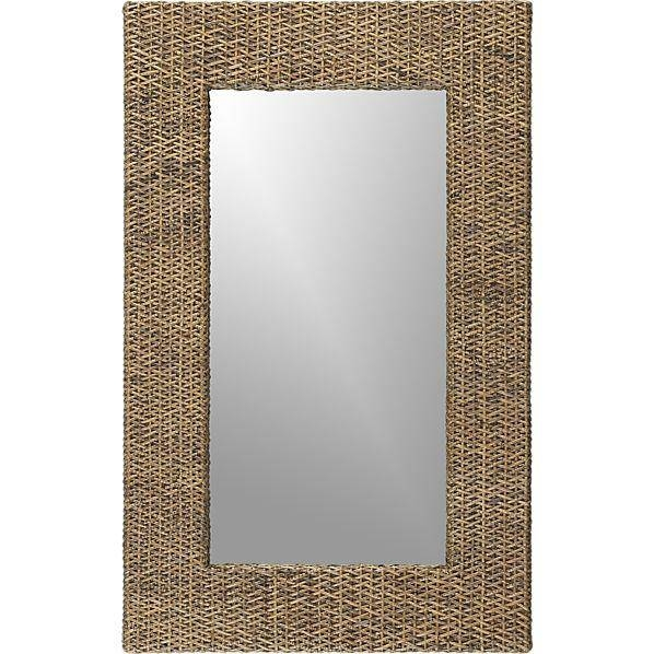 Inspiration about Rattan Wall Mirror – Crate And Barrel Inside Rattan Wall Mirrors (#2 of 15)