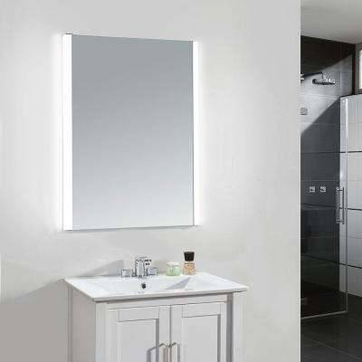 Rectangle – Frameless – Bathroom Mirrors – Bath – The Home Depot Inside Wall Mirrors For Bathrooms (#12 of 15)
