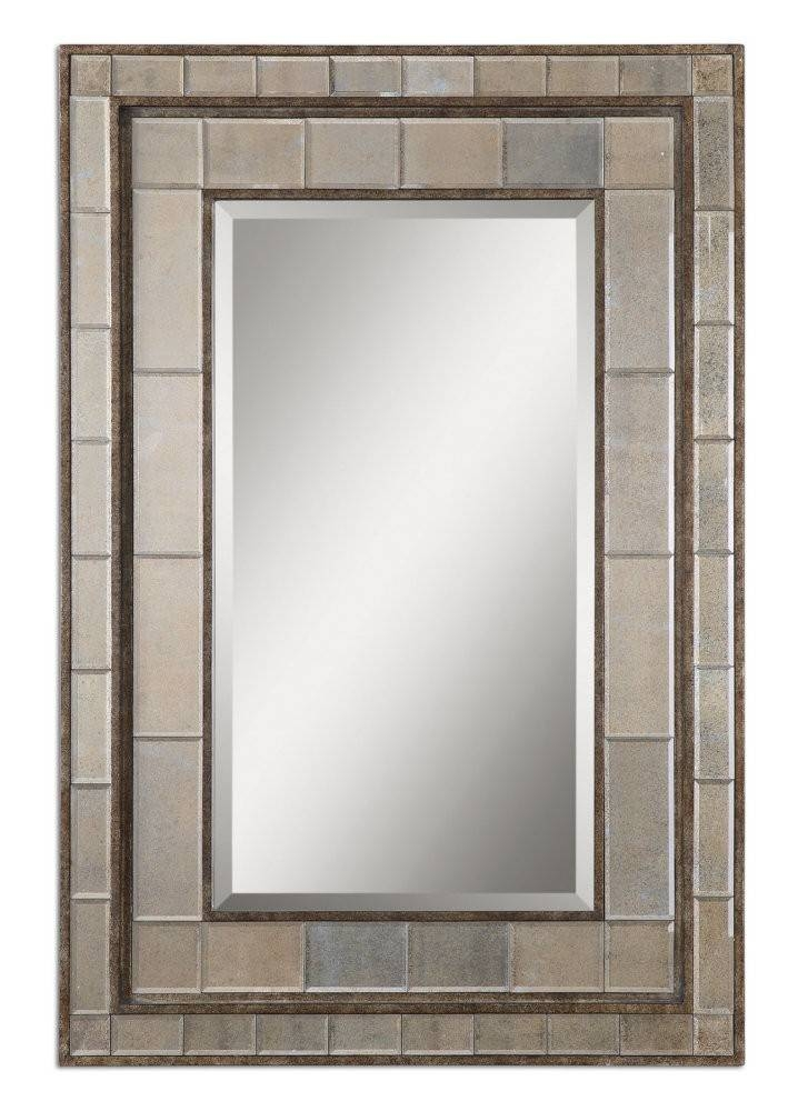 Rectangle Mirrors Wall, Wood Rectangular Wall Mirror Bedroom Inside Decorative Rectangular Wall Mirrors (#10 of 15)