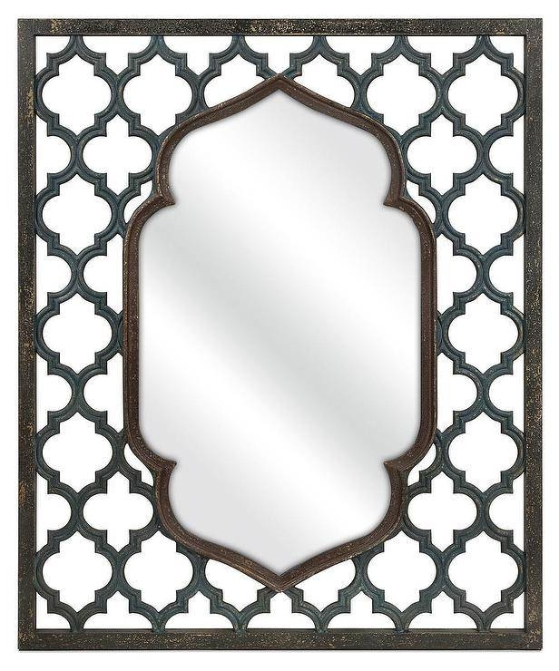 Inspiration about Rectangular Wall Mirror Throughout Moroccan Wall Mirrors (#8 of 15)