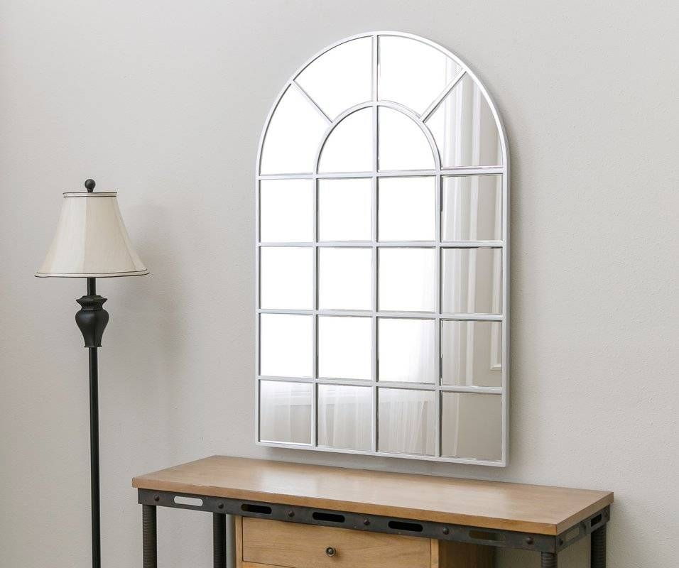 Inspiration about Red Barrel Studio Arched Wall Mirror & Reviews | Wayfair In Arch Wall Mirrors (#1 of 15)