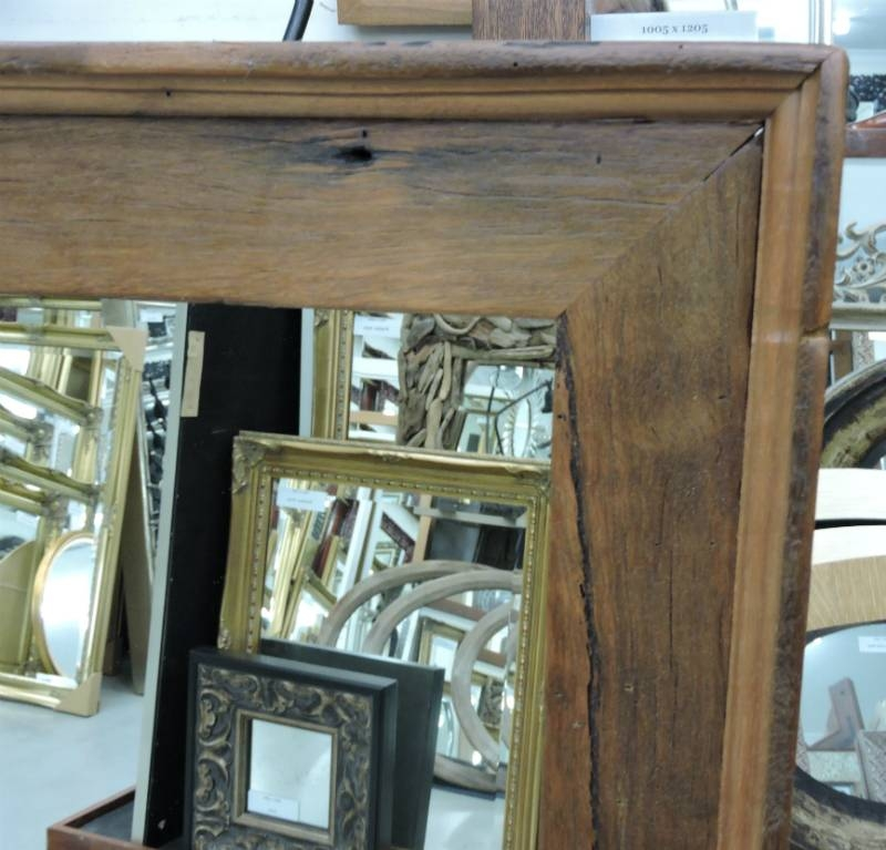 Reflect Mirrors Brisbane | Recycled Timber Mirror | Custom Made In Timber Mirrors (View 5 of 15)