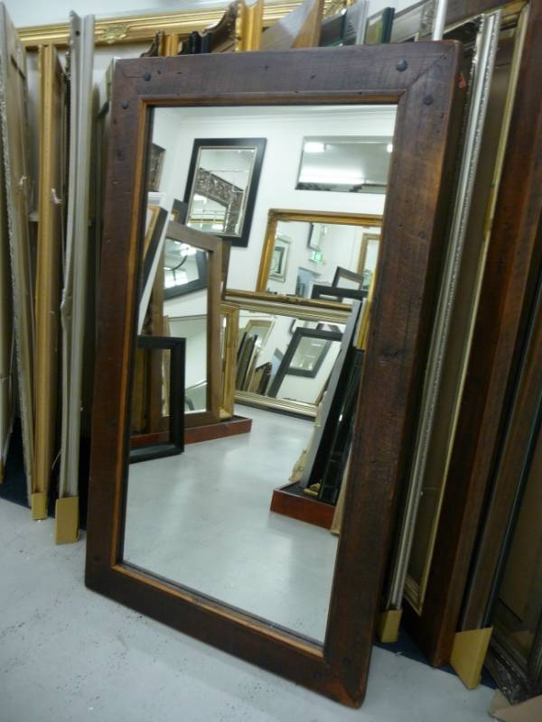 Reflect Mirrors Brisbane | Timber Mirrors | Full Lenght Mirrors Inside Timber Mirrors (View 2 of 15)