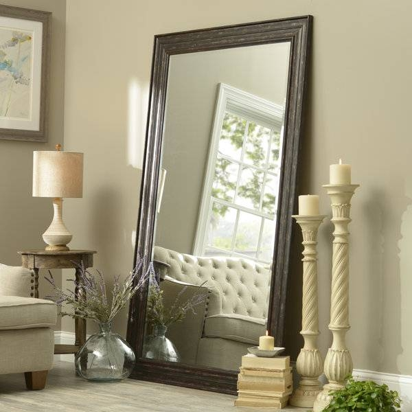 15 Best Of Large Leaning Wall Mirrors