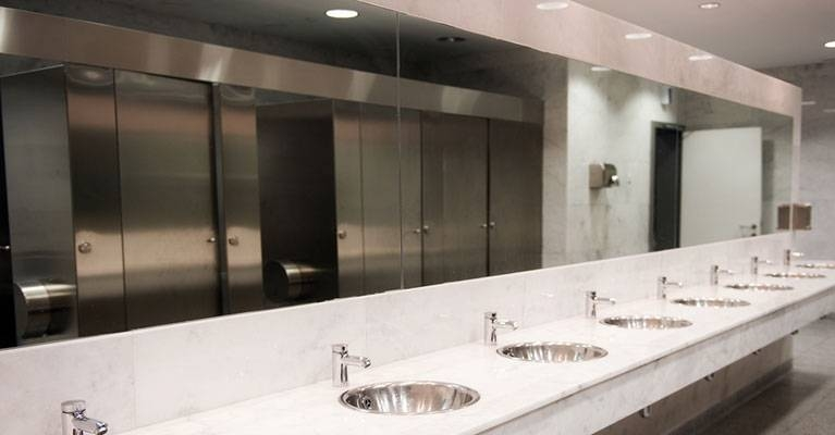 Inspiration about Restroom Cleanliness | Premier Floor Care, Inc.® Inside Commercial Bathroom Mirrors (#8 of 15)