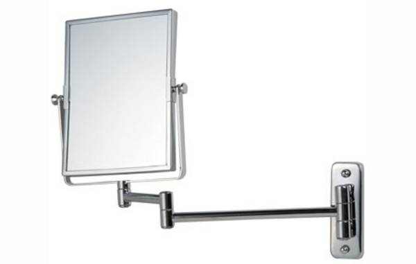 Inspiration about Reversible Magnifying Wall Mirror On Adjustable Arm, Architectural Within Adjustable Bathroom Mirrors (#7 of 15)