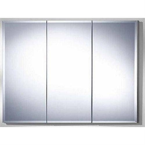 Inspiration about Rhett 3 Door Medicine Cabinet Beveled Edge Trt4836Mb 6 From Wave In 3 Door Medicine Cabinets With Mirrors (#7 of 15)