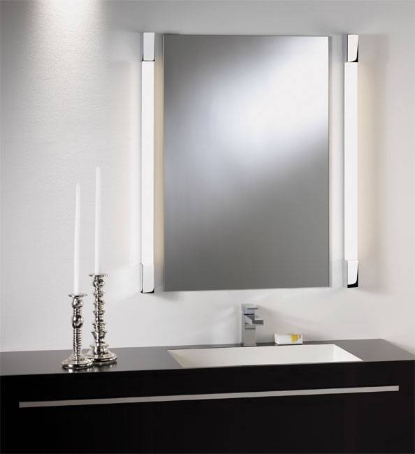 Romano 1200 28W Low Energy Ip44 Bathroom Wall Light Mirror Light Within Light Wall Mirrors (#12 of 15)