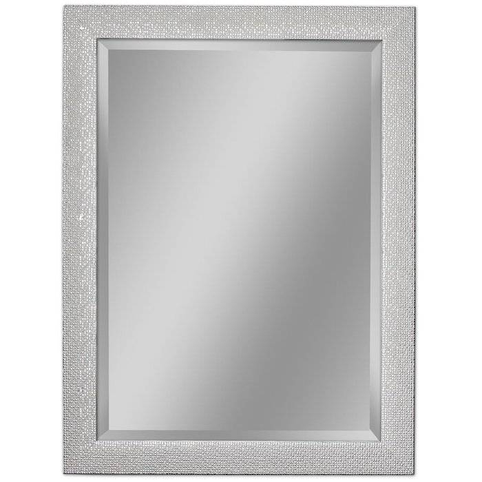 Inspiration about Rosdorf Park Beveled Rectangle Bathroom/vanity Wall Mirror Pertaining To Black Rectangle Wall Mirrors (#11 of 15)