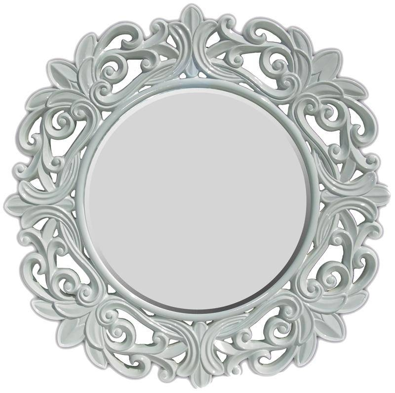 Round Bathroom Wall Mirror — All Home Design Solutions : The Round Throughout Round White Wall Mirrors (#6 of 15)