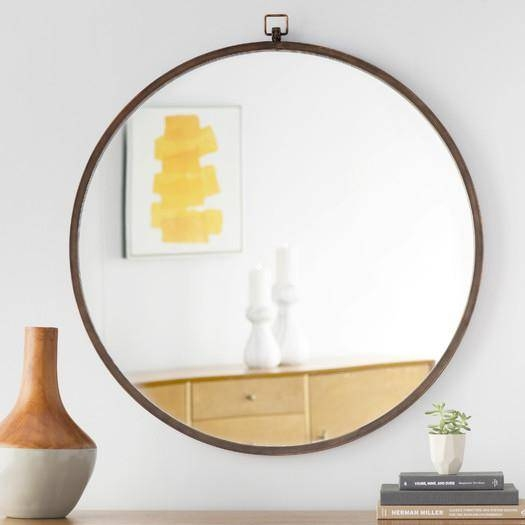 Inspiration about Round Beveled Wall Mirrortwo's Company – Organize Intended For Round Beveled Wall Mirrors (#12 of 15)
