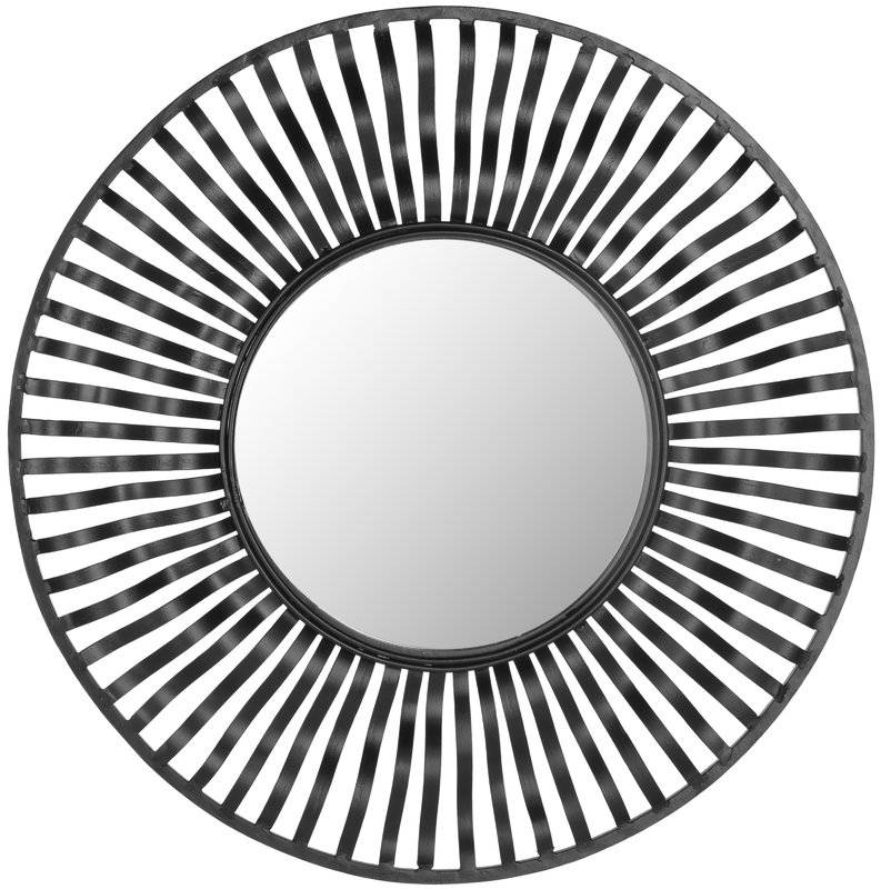 Inspiration about Round Black Wall Mirror – Round Designs In Round Black Wall Mirrors (#4 of 15)