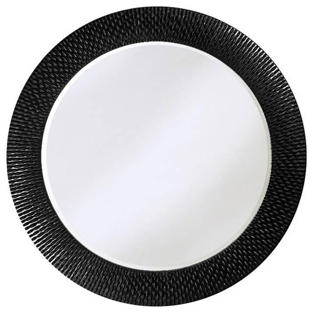 Round Black Wall Mirror – Round Designs Regarding Black Round Wall Mirrors (#15 of 15)