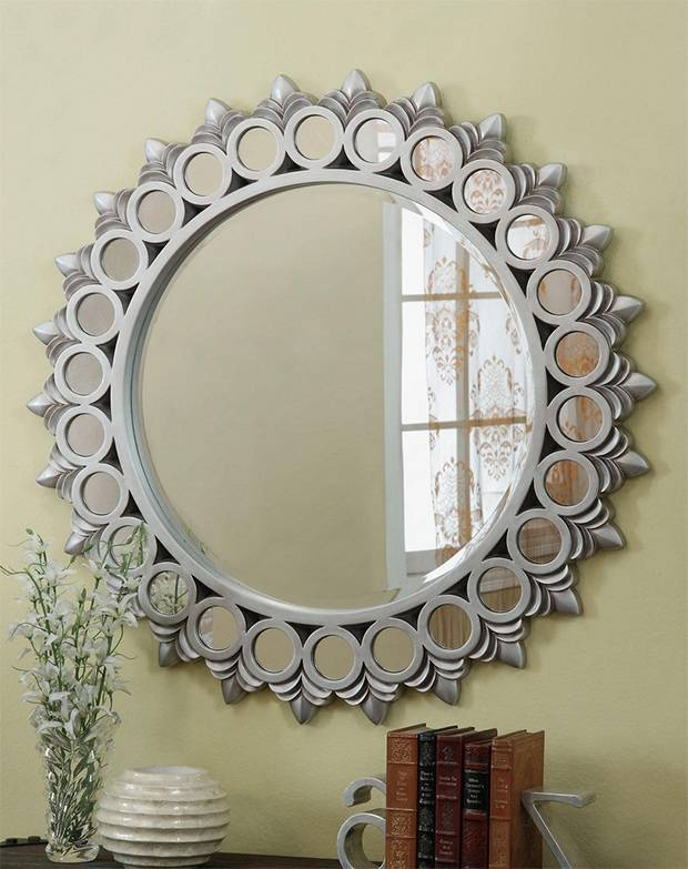 Inspiration about Round Decorative Wall Mirror – Round Designs Inside Decorative Round Wall Mirrors (#11 of 15)