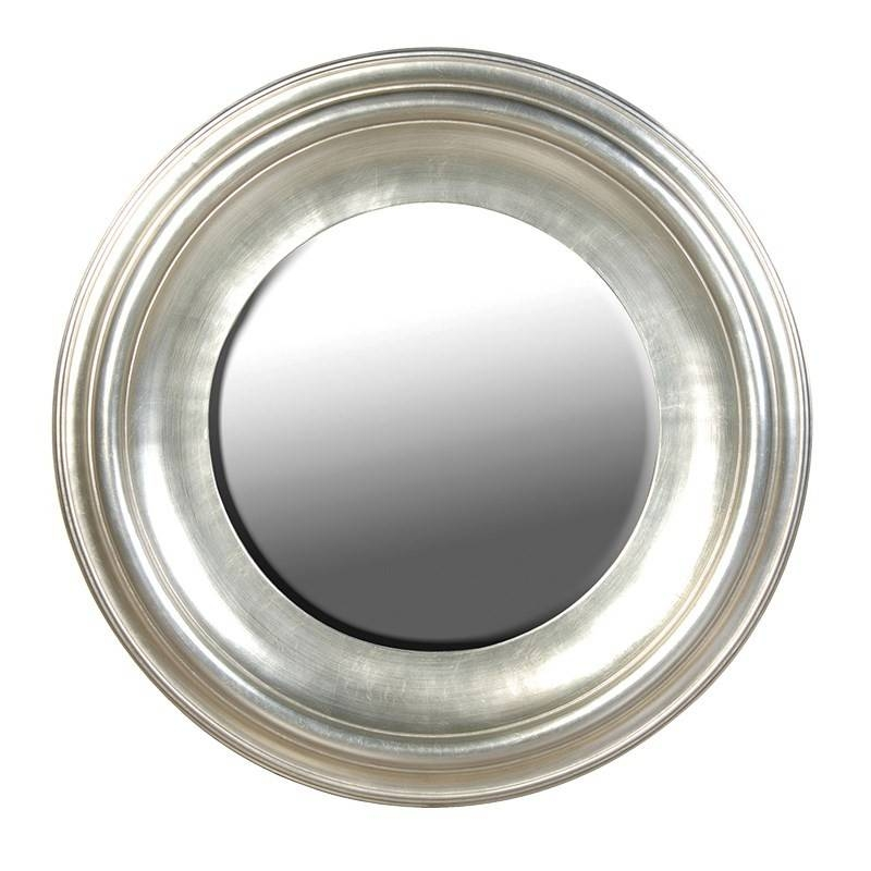 Inspiration about Round Silver Wall Mirror – Round Designs In Silver Round Wall Mirrors (#5 of 15)