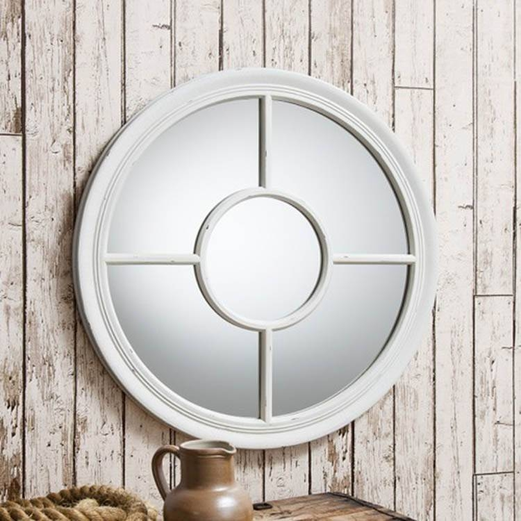 Inspiration about Round Wall Mirror Silver : Doherty House – Design Of Round Wall Mirror Inside Round White Wall Mirrors (#6 of 15)