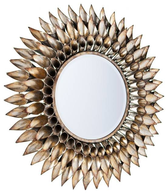 Inspiration about Roxbury Round Decorative Wall Mirror – Contemporary – Wall Mirrors With Round Decorative Wall Mirrors (#4 of 15)