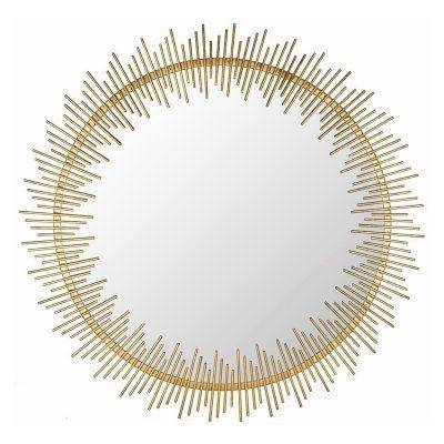 Safavieh Sunray Wall Mirror – Mir4022a | Products Within Sun Ray Wall Mirrors (View 15 of 15)